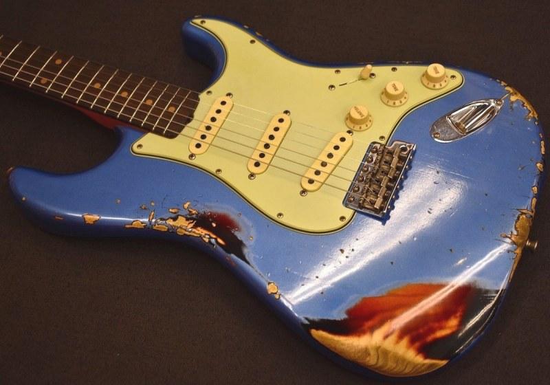 Fender Custom Shop LTD 1962 Stratocaster Heavy Relic Lake Placid Blue CZ538877【Flash Coat Lacquer Heavy Relic!!】【フェンダー】【カスタムショップ】【ストラトキャスター】【ヘヴィレリック】【レイクプラシッドブルー】【マルチレイヤー】