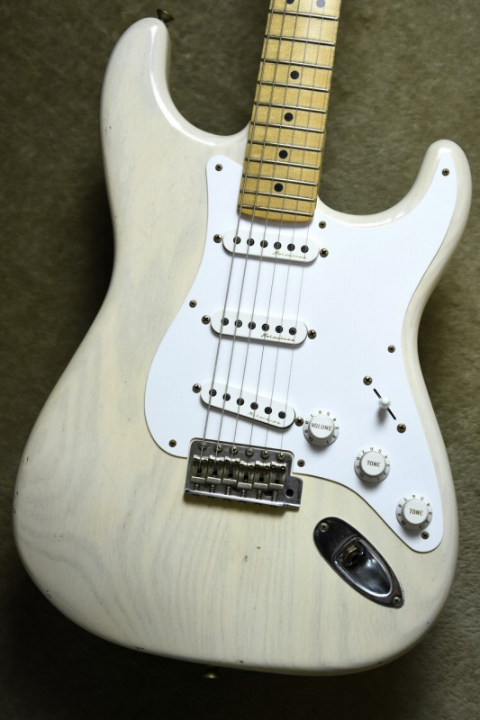 Fender Custom Shop MBS ERIC CLAPTON Stratocaster Journeyman Relic Aged White Blonde by Todd Krause【フェンダー】【トッドクラウス】【エリック・クラプトン】【ストラトキャスター】