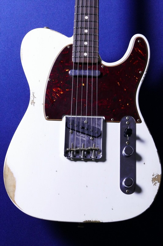 Fender Custom Shop NAMM LTD 1963 Telecaster Relic Matching Headstock -Olympic White- [3.34kg]