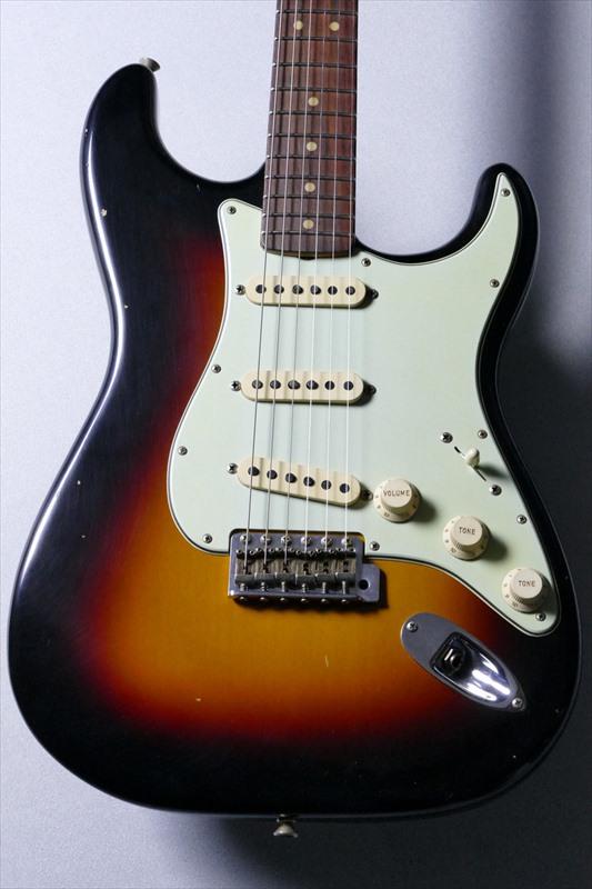 Fender Custom Shop 1964 Stratocaster Journyman Relic -Wide Black 3 Color Sunburst- [3.43kg]【当店オーダーモデル!!】