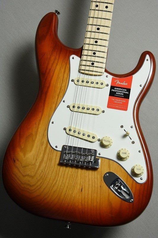 ギグバッグプレゼント!!【ASHボディ生産完了!!】 Fender 【アッシュボディ】 American Professional Stratocaster -SSB / MN- [#US18015538][3.54kg]