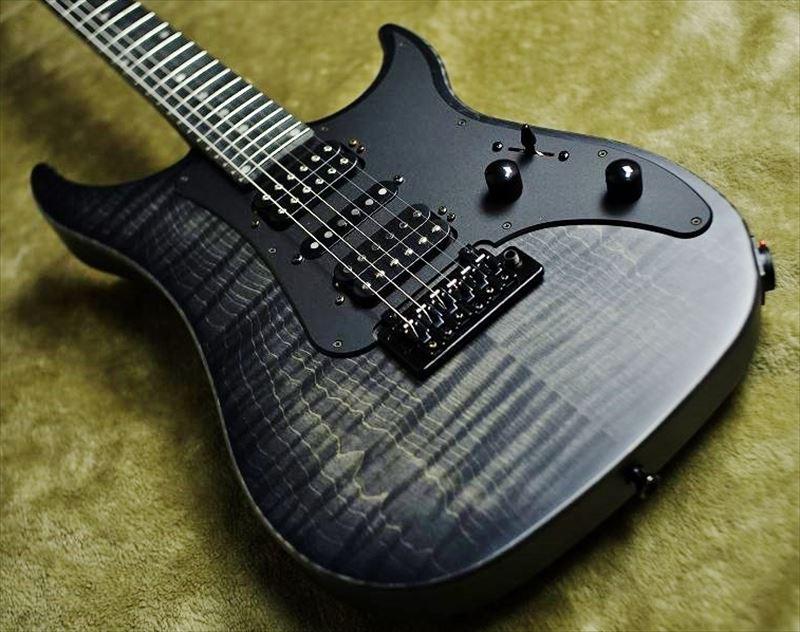 Vigier Guitars Excalibur Special HSH VE6-CVSP1【Velour Noir/Maple】【極上杢目個体】国内3本のみ、カスタムモデル!