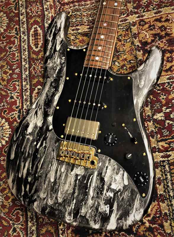 James Tyler 【黒&黒&金、極上ルックス!!】USA Studio Elite HD Black Shmear Semi Gloss Finish 2019年製【3.38kg】