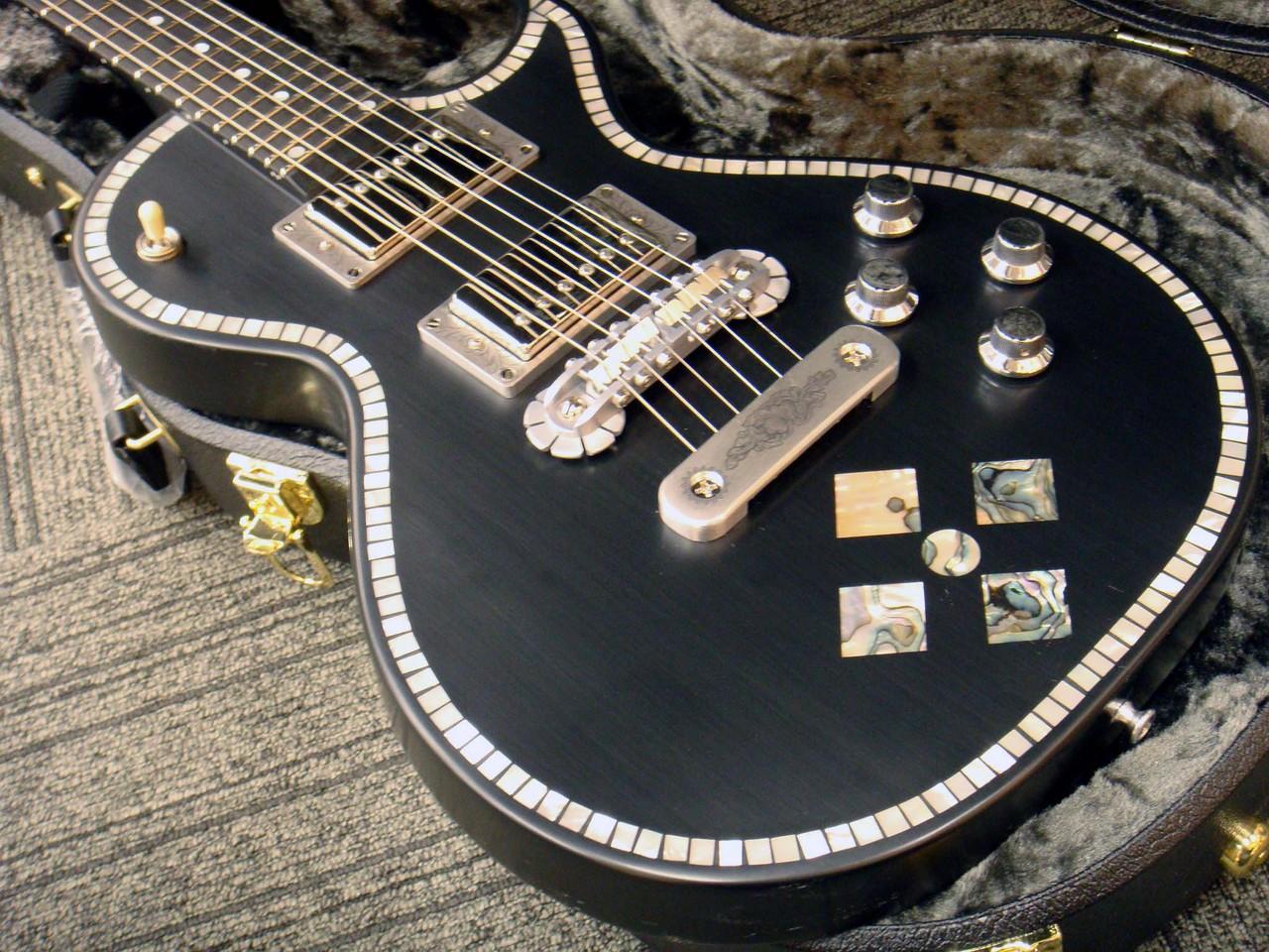 ZEMAITISCustom Shop Superior Series CS24SU BLACK PEARL DIAMOND Black (# KZ170653)【ゼマイティス】【スーペリア】【送料無料】