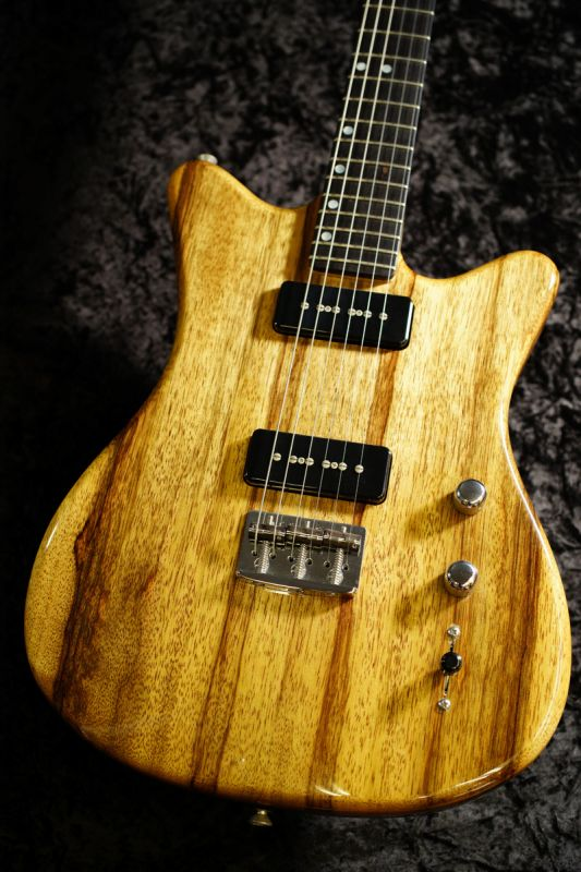John Page Guitars ML-K BlackLinba 2016年製【ブラックリンバ+P-90!!】【USED/中古】【ジョン・ペイジ】【送料無料】
