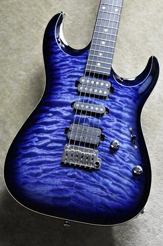 T's Guitars DST-Pro22 Carved 【Whale Blue Burst】 【4A Quilted Maple】【2018年楽器フェア出品モデル】【1本限り】