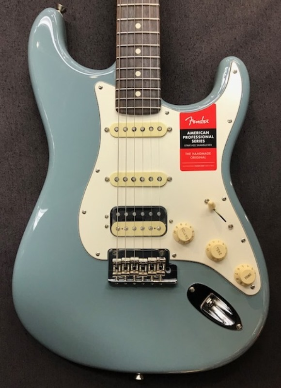Fender USAAmerican Professional Stratocaster HSS Shawbucker ~Sonic Gray~17033358【フェンダー】【アメリカン・プロフェッショナル】【ストラトキャスター】【ハムバッカー】