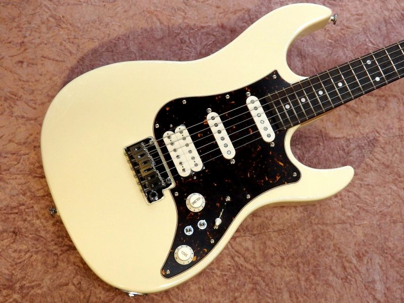 【期間限定!ORANGEアンププレゼント】EOS-AL-R Antique White 【国産・日本製】【ストラトキャスター】【ハイエンド】【リアハムバッカー】【コイルタップ】【送料無料】