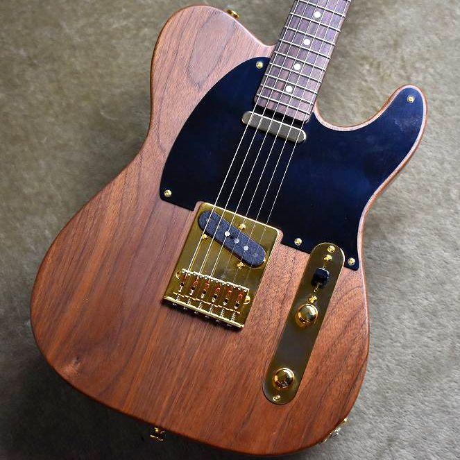 Moon TE 40TH Anniversary Model Walnut #57110【3.09Kg】【ムーン】【テレキャスター】【ウォルナット】【ローズウッドネック】