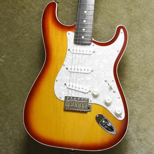 Fender Japan FSR Aerodyne Stratocaster®, Rosewood Fingerboard, Sienna Sunburst #18012090【数量限定】【フェンダージャパン】【エアロダイン】【ストラトキャスター】【シエナサンバースト】