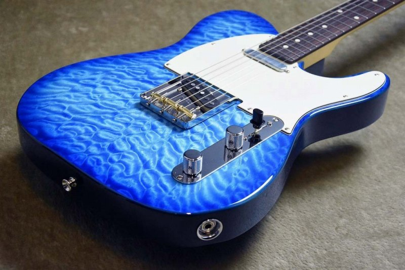Fender Japan 【セール特価】 Hybrid 60s Telecaster Quilt Top~Transparent Blue~JD18015009~3.46kg【25本限定】
