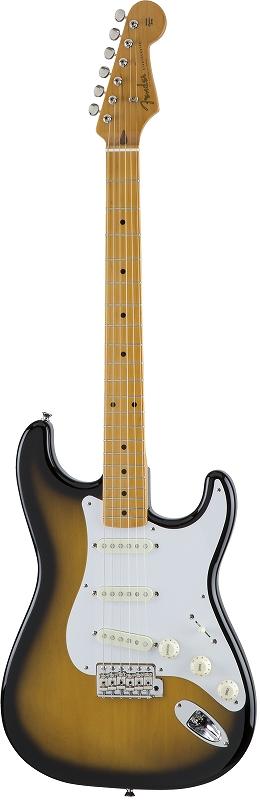 Fender フェンダー MADE IN JAPAN TRADITIONAL 50S STRATOCASTER® Maple Fingerboard, 2-Color Sunburst 【国産・日本製】【ストラトキャスター】【送料無料】