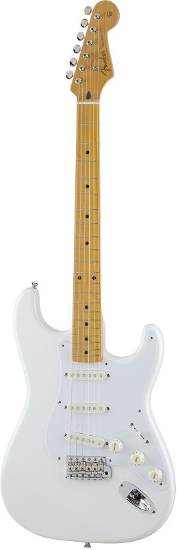 Fender フェンダー MADE IN JAPAN TRADITIONAL 50S STRATOCASTER® Maple Fingerboard, Arctic White 【国産・日本製】【ストラトキャスター】【送料無料】
