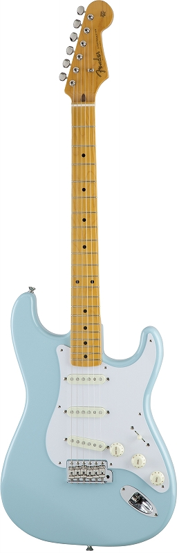 Fender フェンダー MADE IN JAPAN TRADITIONAL 50S STRATOCASTER® Maple Fingerboard, Sonic Blue 【 5359502304】【国産・日本製】【ストラトキャスター】【送料無料】