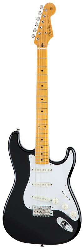 Fender フェンダー MADE IN JAPAN TRADITIONAL 58 STRATOCASTER® Maple Fingerboard, Black 【国産・日本製】【ストラトキャスター】【送料無料】