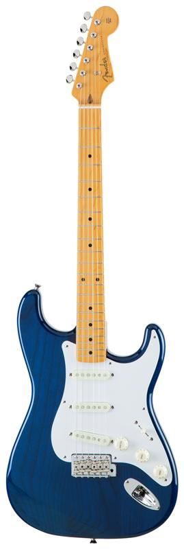 Fender フェンダー MADE IN JAPAN TRADITIONAL 58 STRATOCASTER® Maple Fingerboard, Sapphire Blue Transparent 【国産・日本製】【ストラトキャスター】【送料無料】