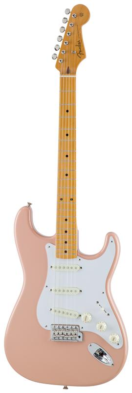 Fender フェンダー MADE IN JAPAN TRADITIONAL 58 STRATOCASTER® Maple Fingerboard, Flamingo Pink 【国産・日本製】【ストラトキャスター】【送料無料】
