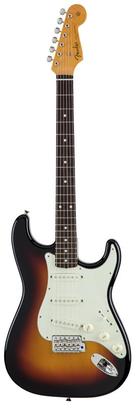 Fender フェンダー MADE IN JAPAN TRADITIONAL 60S STRATOCASTER® Rosewood Fingerboard, 3-Color Sunburst 【国産・日本製】【ストラトキャスター】【送料無料】