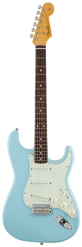 Fender フェンダー MADE IN JAPAN TRADITIONAL 60S STRATOCASTER® Rosewood Fingerboard, Sonic Blue 【国産・日本製】【ストラトキャスター】【送料無料】