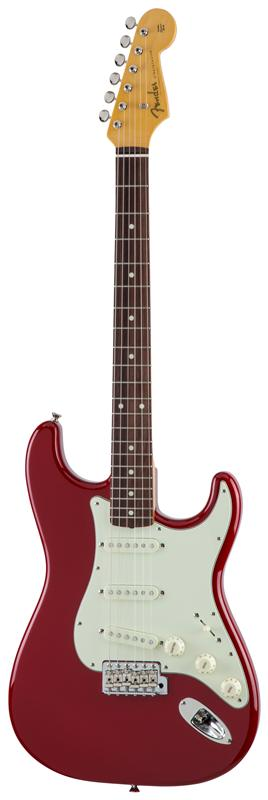 Fender フェンダー MADE IN JAPAN TRADITIONAL 60S STRATOCASTER® Rosewood Fingerboard, Torino Red 【国産・日本製】【ストラトキャスター】【送料無料】