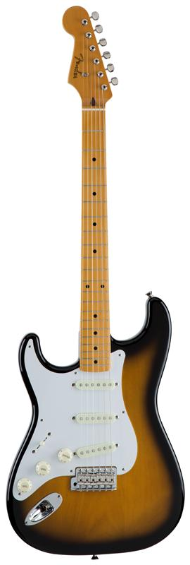 Fender フェンダー MADE IN JAPAN TRADITIONAL 50S STRATOCASTER® LEFT-HAND Maple Fingerboard, 2-Color Sunburst 【国産・日本製】【ストラトキャスター】【送料無料】