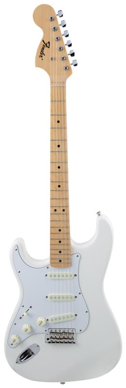 Fender フェンダー MADE IN JAPAN TRADITIONAL 68S STRATOCASTER® LEFT-HAND Maple Fingerboard, Arctic White 【国産・日本製】【ストラトキャスター】【送料無料】
