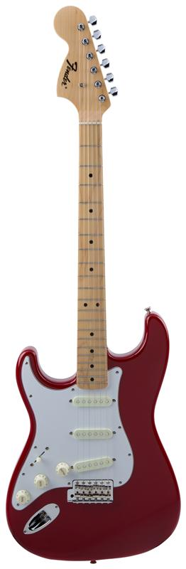 Fender フェンダー MADE IN JAPAN TRADITIONAL 68S STRATOCASTER® LEFT-HAND Maple Fingerboard, Torino Red 【国産・日本製】【ストラトキャスター】【送料無料】