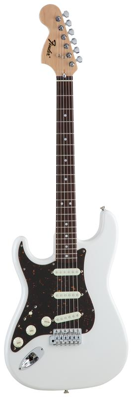 Fender フェンダー MADE IN JAPAN TRADITIONAL 70S STRATOCASTER® LEFT-HAND Rosewood Fingerboard, Arctic White 【国産・日本製】【ストラトキャスター】【送料無料】