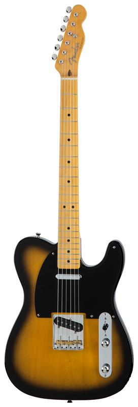 Fender フェンダー MADE IN JAPAN TRADITIONAL 50S TELECASTER® Maple Fingerboard, 2-Color Sunburst 【国産・日本製】【テレキャスター】【送料無料】