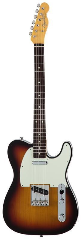 Fender フェンダー MADE IN JAPAN TRADITIONAL 60S TELECASTER® CUSTOM Rosewood Fingerboard, 3-Color Sunburst 【国産・日本製】【テレキャスター】【送料無料】