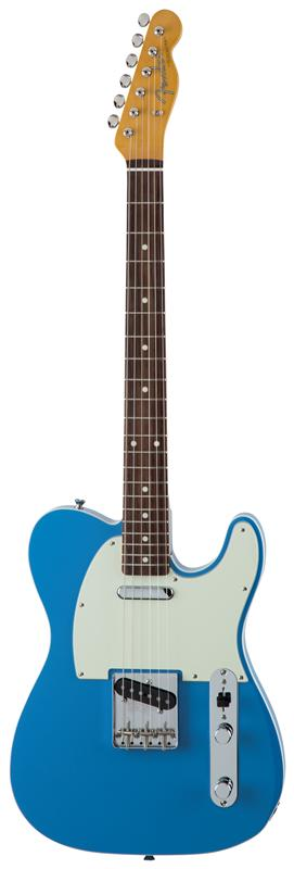 Fender フェンダー MADE IN JAPAN TRADITIONAL 60S TELECASTER® CUSTOM Rosewood Fingerboard, California Blue 【国産・日本製】【テレキャスター】【送料無料】