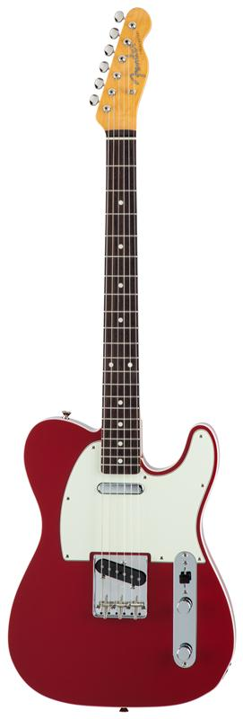 Fender フェンダー MADE IN JAPAN TRADITIONAL 60S TELECASTER® CUSTOM Rosewood Fingerboard, Torino Red 【国産・日本製】【テレキャスター】【送料無料】