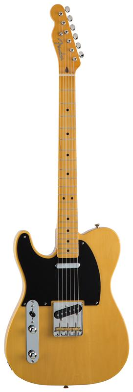 Fender フェンダー MADE IN JAPAN TRADITIONAL 50S TELECASTER® LEFT-HAND Maple Fingerboard, Vintage Natural 【国産・日本製】【テレキャスター】【送料無料】