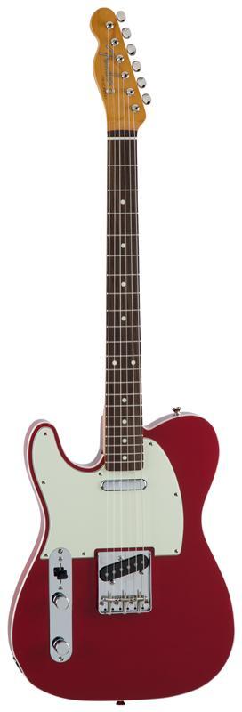 Fender フェンダー MADE IN JAPAN TRADITIONAL 60S TELECASTER® CUSTOM LEFT-HAND Rosewood Fingerboard, Torino Red 【国産・日本製】【テレキャスター】【送料無料】