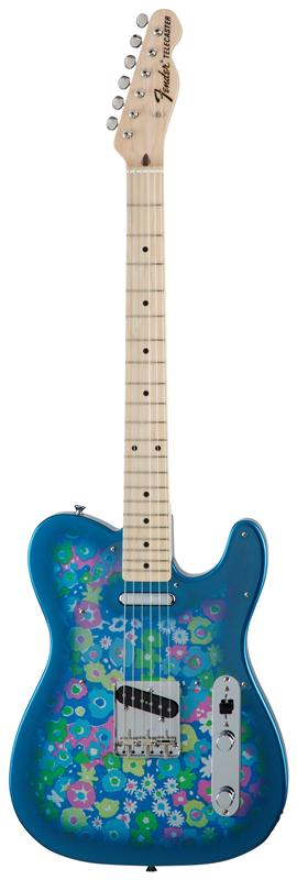 Fender フェンダー MADE IN JAPAN TRADITIONAL 69 TELECASTER® Maple Fingerboard, Blue Flower 【国産・日本製】【テレキャスター】【送料無料】
