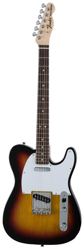 Fender フェンダー MADE IN JAPAN TRADITIONAL 70S TELECASTER® ASH Rosewood Fingerboard, 3-Color Sunburst 【国産・日本製】【テレキャスター】【送料無料】