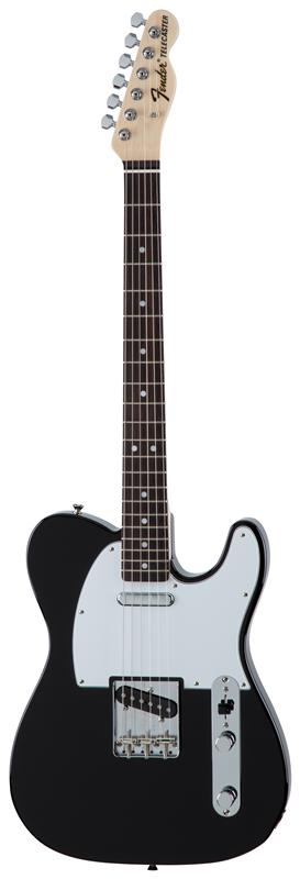 Fender フェンダー MADE IN JAPAN TRADITIONAL 70S TELECASTER® ASH Rosewood Fingerboard, Black 【国産・日本製】【テレキャスター】【送料無料】