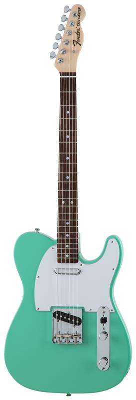 Fender フェンダー MADE IN JAPAN TRADITIONAL 70S TELECASTER® ASH Rosewood Fingerboard, Surf Green 【国産・日本製】【テレキャスター】【送料無料】