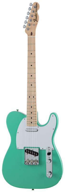 Fender フェンダー MADE IN JAPAN TRADITIONAL 70S TELECASTER® ASH Maple Fingerboard, Surf Green 【国産・日本製】【テレキャスター】【送料無料】