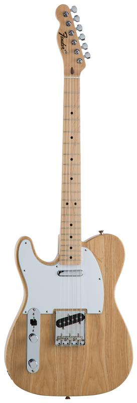 Fender フェンダー MADE IN JAPAN TRADITIONAL 70S TELECASTER® ASH LEFT-HAND Maple Fingerboard, Natural 【国産・日本製】【テレキャスター】【送料無料】