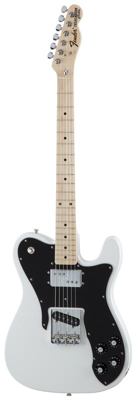 Fender フェンダー MADE IN JAPAN TRADITIONAL 70S TELECASTER® CUSTOM Maple Fingerboard, Arctic White 【国産・日本製】【テレキャスター】【送料無料】