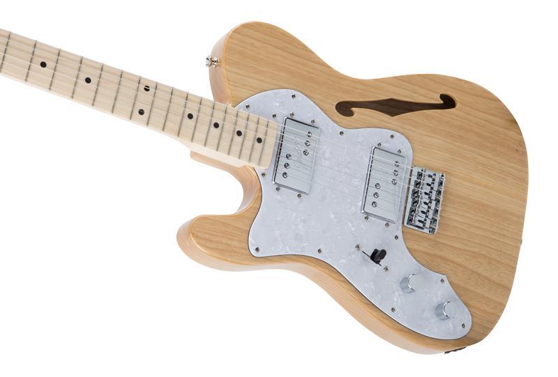 FenderフェンダーMADEINJAPANTRADITIONAL70STELECASTER®THINLINELEFT-HANDMapleFingerboard,Natural【国産・日本製】【テレキャスター】【シンライン】【送料無料】