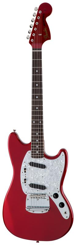 Fender フェンダー MADE IN JAPAN TRADITIONAL 70S MUSTANG® MATCHING HEAD Rosewood Fingerboard, Candy Apple Red 【国産・日本製】【ムスタング】【マッチングヘッド】【送料無料】