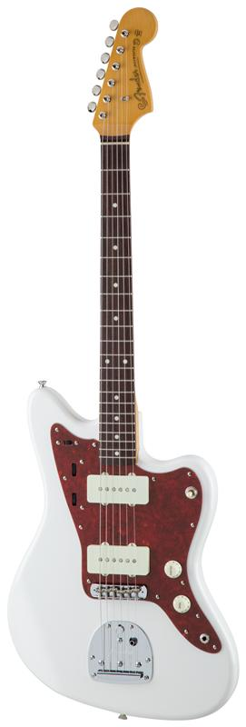Fender フェンダー MADE IN JAPAN TRADITIONAL 60S JAZZMASTER® Rosewood Fingerboard, Arctic White 【国産・日本製】【ジャズマスター】【送料無料】