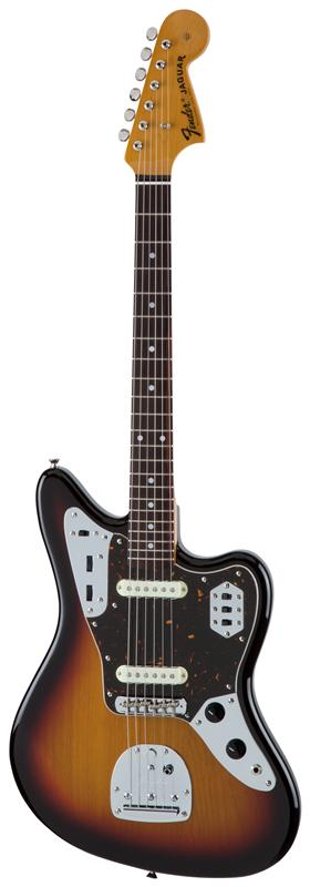 Fender フェンダー MADE IN JAPAN TRADITIONAL 60S JAGUAR® Rosewood Fingerboard, 3-Color Sunburst 【国産・日本製】【ジャガー】【送料無料】
