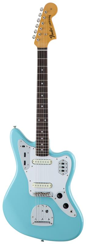 Fender フェンダー MADE IN JAPAN TRADITIONAL 60S JAGUAR® Rosewood Fingerboard, Daphne Blue 【国産・日本製】【ジャガー】【送料無料】