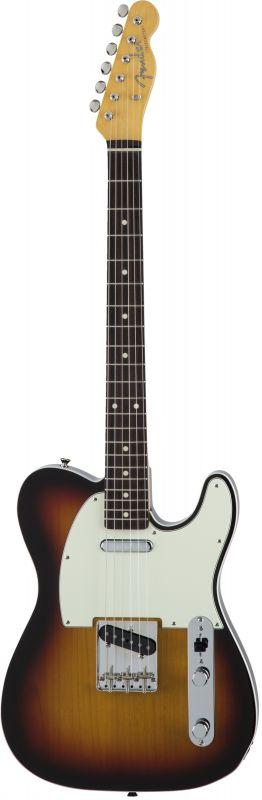 Fender フェンダー Made in Japan Traditional MIJ 60s Telecaster Custom, Rosewood, 3-Color Sunburst [5350600300] (エレキギター/テレキャスター)(送料無料)【国産・日本製】【テレキャスター】【送料無料】