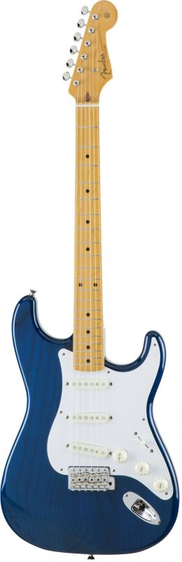 Fender フェンダー Made in Japan Traditional MIJ '58 Stratocaster , Maple, Sapphire Blue Trans [5359582327] (エレキギター/ストラトキャスター)【国産・日本製】【送料無料】