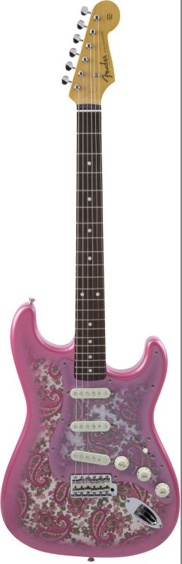 Fender フェンダー Made in Japan Traditional '60s Stratocaster , Rosewood, Pink Paisley [5359600311] (エレキギター/ストラトキャスター)【国産・日本製】【送料無料】
