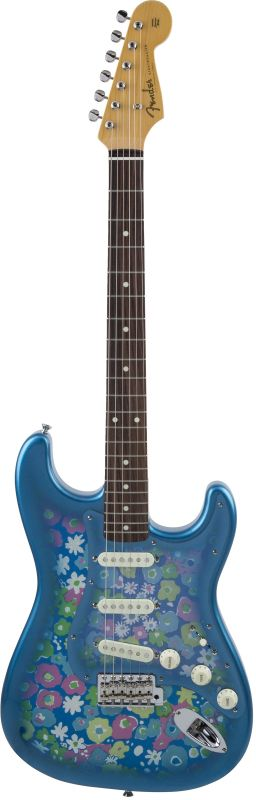 Fender フェンダー Made in Japan Traditional '60s Stratocaster , Rosewood, Blue Flower [5359600350] (エレキギター/ストラトキャスター)【国産・日本製】【送料無料】